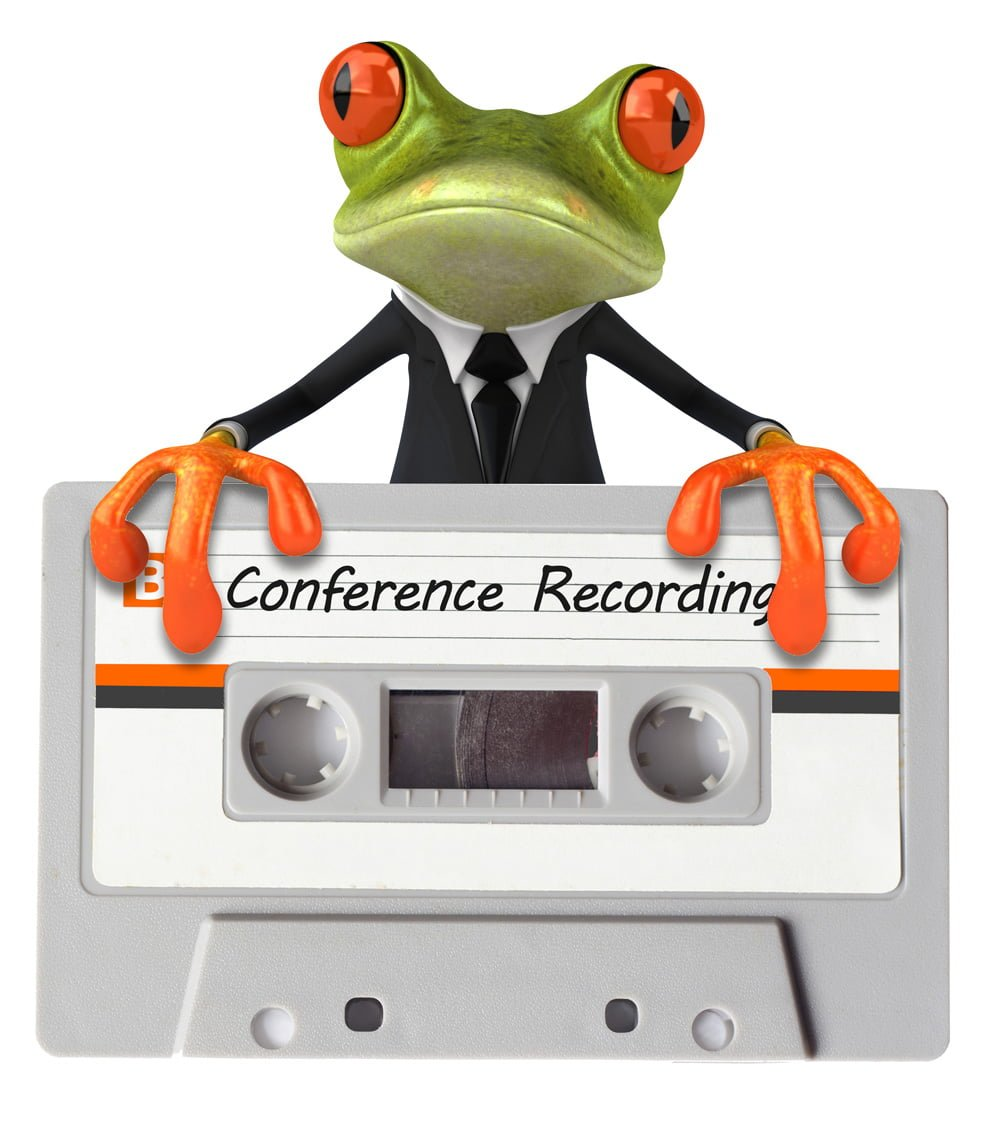 conference call recording service - frog