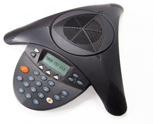 conference call from a Polycom