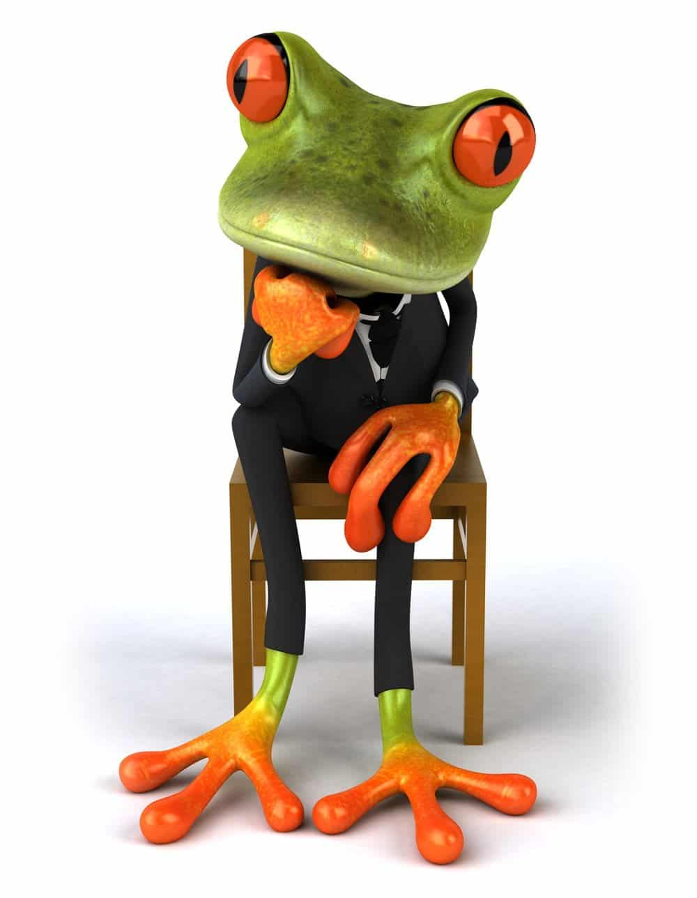 Conference call frog